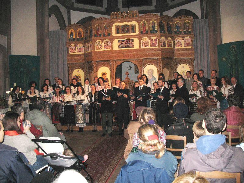 Biserica (concert de deschidere, 10.12.2006)