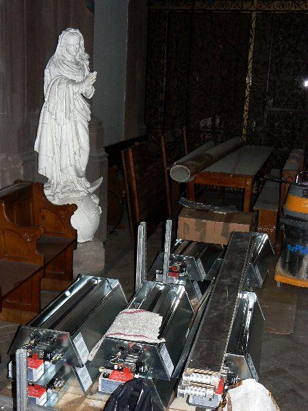 Biserica (lucràri, încàlzire)