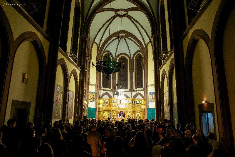 Strasbourg, Sf. Pasti 2015, Canonul Sâmbetei celei Mari